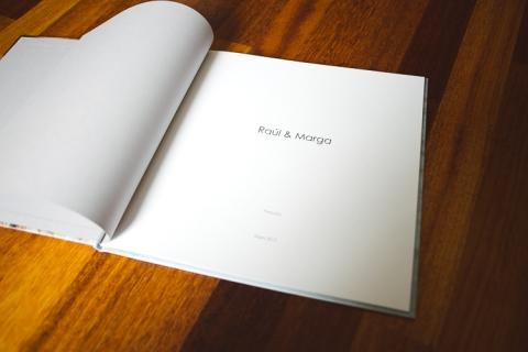 album de firmas para boda