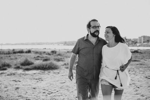 fotos preboda en la playa de tarragona