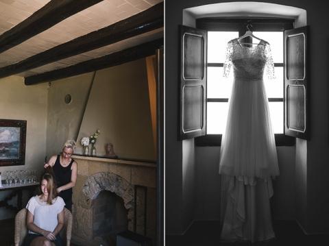 fotos de boda en el castillo de tamarit